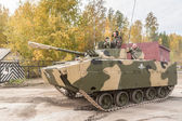 Airborne tracked armoured vehicle BMD-4M — Stock Photo