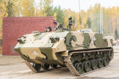 Airborne armoured personnel carrier BTR-MDM — 图库照片