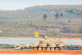 Armoured deminer BMR-3M moves. Russia — Stock Photo
