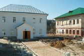 Restoration in Ioanno-Vvedensky female monastery — Stock Photo