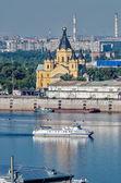 Alexander Nevsky Cathedral. Nizhny Novgorod — Stock Photo