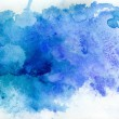Blue watercolor background — Stock Photo #21813445
