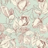 Vintage roses — Stock Vector