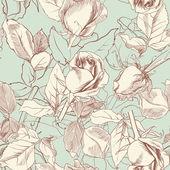Eski güller — Stok Vektör