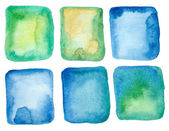 Watercolor backdrops — Stock Photo