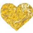 gold heart — Stock Photo