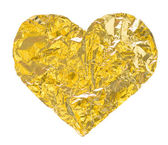 Gold heart — Photo