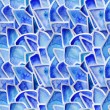Stock Photo: Blue watercolor background