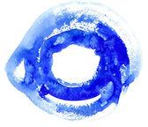 Watercolor circle — Stock Photo
