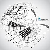 Abstract technology globe — Zdjęcie stockowe