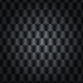 Black vector technology background with 3D effect — Stock Vector