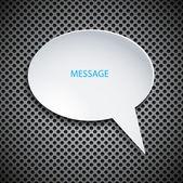 Vector bubble speech background — Stockvector