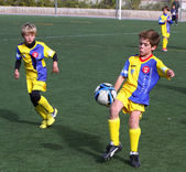 Boys on the Alicante City Youth Soccer Cup — Stock Photo