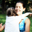 Stock Photo: Happy family moments - Mother and child have fun