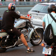 Bikers on Barcelona Harley Days 2013 — Stock Photo