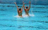 Synchronised Swimming — Stock Photo