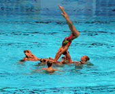 Synchronised Swimming — Stock Photo