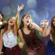 Teenage girls having fun at party — Stock Photo #30563359