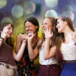 Stockfoto: Teenage girls having fun at party