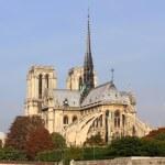 Notre Dame de Paris and the Seine river, France — Stock Photo