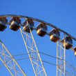 Stock Photo: Ferris wheel. Front view