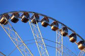 A ferris wheel. Front view — Stock Photo