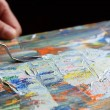 Art painting with palette knife — Stock Photo #39964277