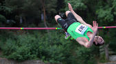 Bohdan Bondarenko win high jump — Stock Photo