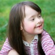 Portrait of beautiful young happy girl — Stock Photo #51544607