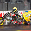 Top fueller drag bike — Stock Photo