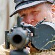 ������, ������: German machine gunner
