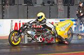 Top fueller drag bike — Stock Photo