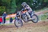 Shaun Sinpson moto-X — Stock Photo