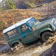 Stock Photo: Off road Land Rover