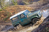 Off road Land Rover — Stock Photo