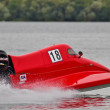 GT powerboat racing — Stock Photo
