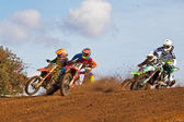 First corner MX melee — Stock Photo