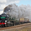 Luxury Steam train — Stock Photo