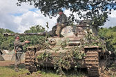 German panzer tank — Stock Photo