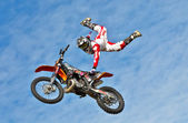 FMX rider — Stock Photo