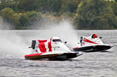 Powerboat racing — Stock Photo