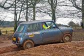 Muddy hillclimb — Stock Photo
