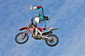 FMX freestyle — Stock Photo