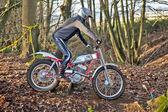 Rider rowerów prób — Zdjęcie stockowe