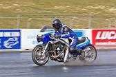 Speeding Gixxer — Foto Stock