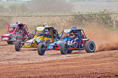 Autograss speeding — Stock Photo