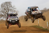 SXS racing — Stock Photo
