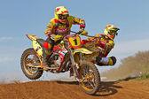 Sidecar moto-X — Stock Photo