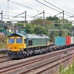 Freight train — Stock Photo #6406417