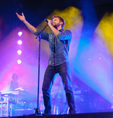 Pablo Alboran in concert both in Cordoba — Stock Photo